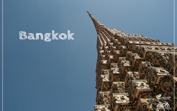 1ère étape à Bangkok, effervescence et solidarité