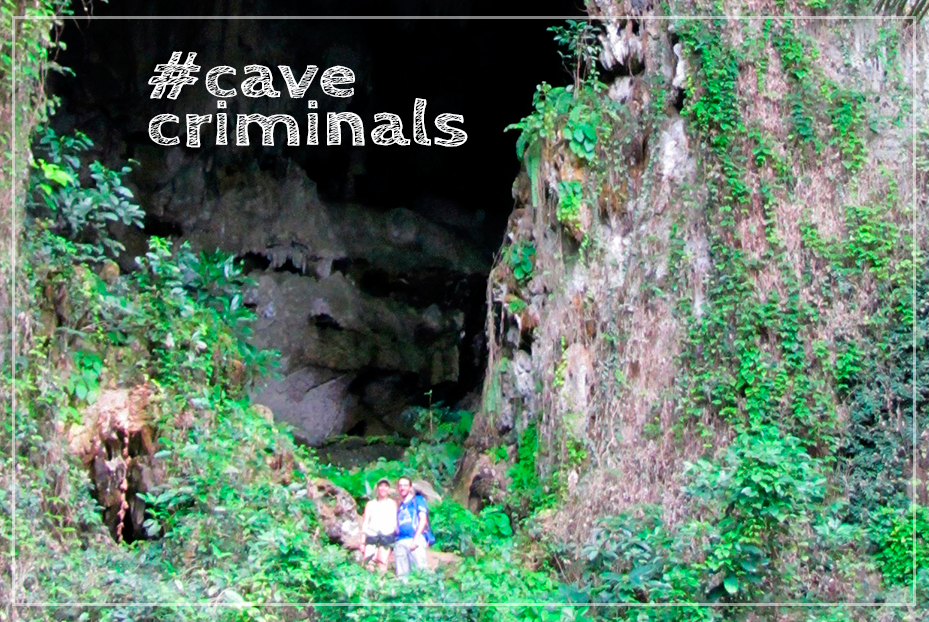 #cavecriminals – ou comment on a faillit se retrouver au poste!